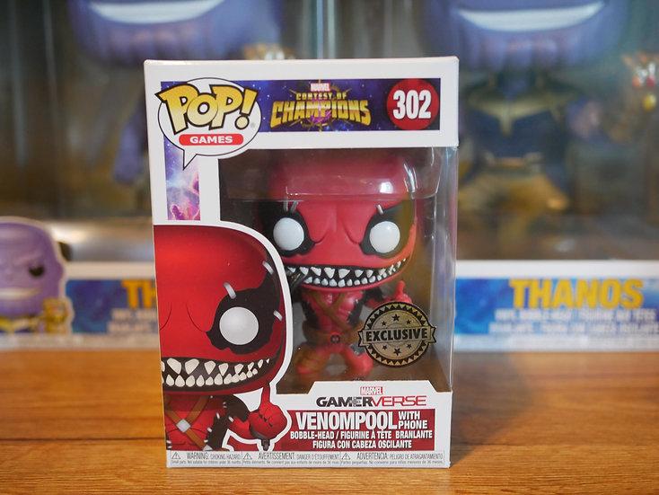 Funko POP Marvel : CoC-Venompool w/Phone IE (EX)