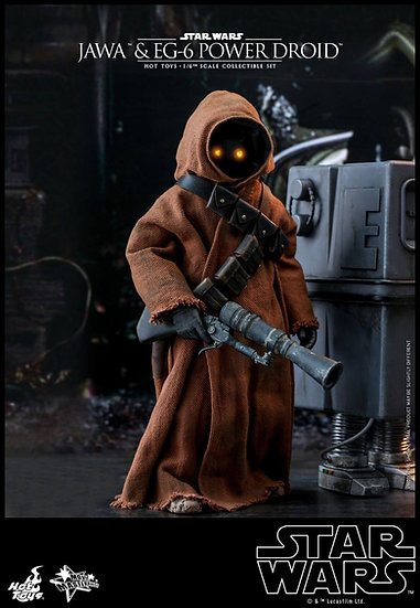 Hot Toys : STAR WARS: EPISODE IV A NEW HOPE JAWA & EG-6 POWER DROID