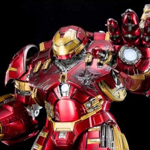 KING ARTS : Hulkbuster 1/9 Diecast Remote Battle Damaged