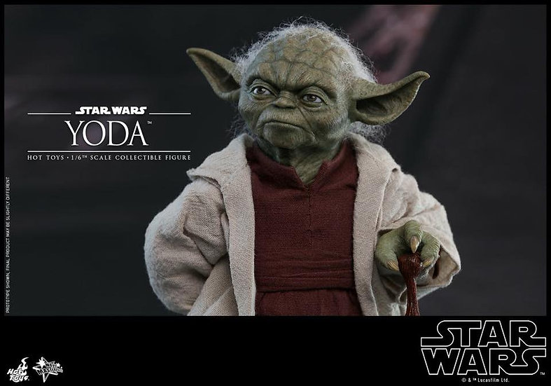 Hot Toys : STAR WARS: EPISODE VI RETURN OF THE JEDI YODA