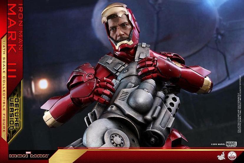 Hot Toys : IRON MAN MARK III (DELUXE VERSION)