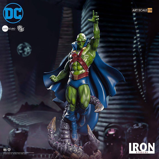 [LIMIT ORDER] IRON STUDIOS 1/10 : Martian Manhunter by Ivan Reis Serie