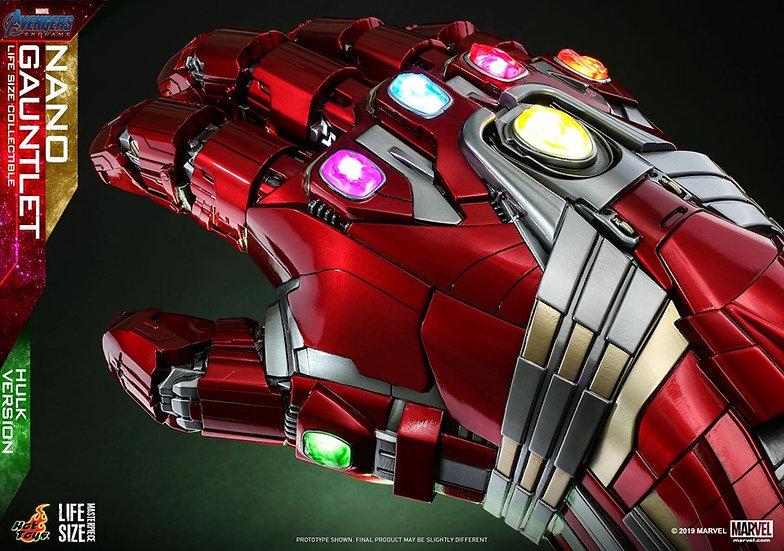 Hot Toys :  AVENGERS: ENDGAME NANO GAUNTLET [Hulk] LIFE-SIZE COLLECTIB