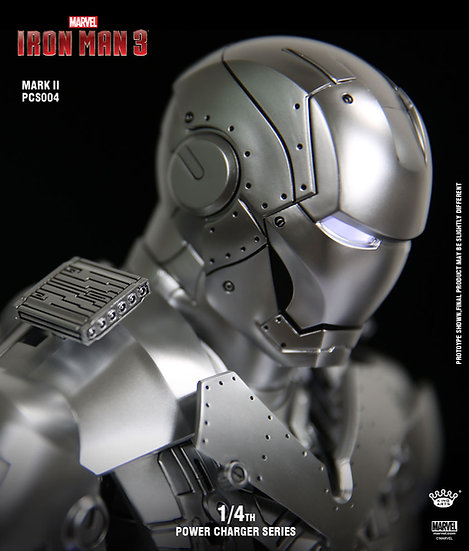 KING ARTS : Ironman Mark II [2] Repair Version Charger Statue
