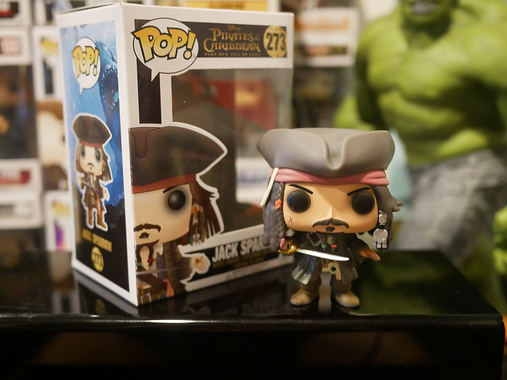 Funko Pop Movies : Pirate of the Caribbean 5 - Jack Sparrow