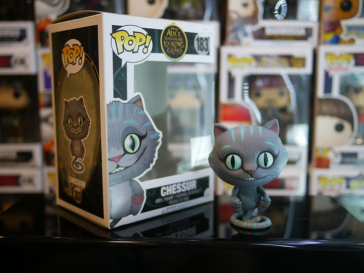 Funko Pop Disney : Alice Throught The Looking Glass-Chessur