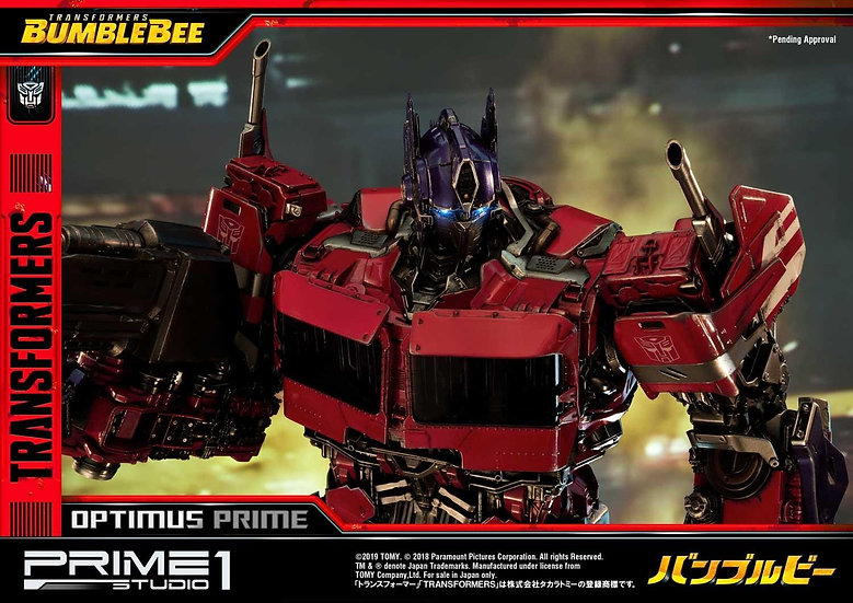 PRIME1STUDIO : Transformers: Bumblebee (Film) Optimus Prime