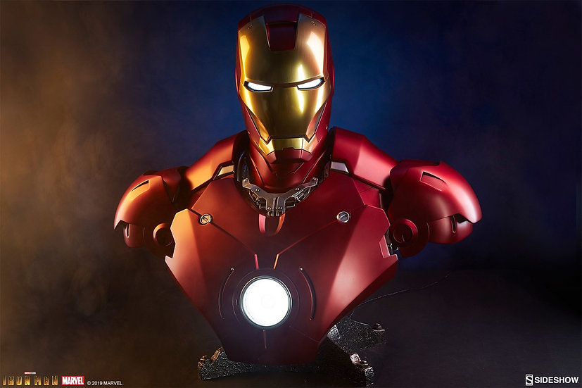 [LIMIT ORDER] SIDESHOW BUST : Iron Man Mark III