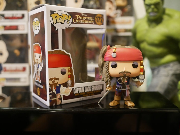 Funko Pop Disney : Pirates - Captain Jack Sparrow