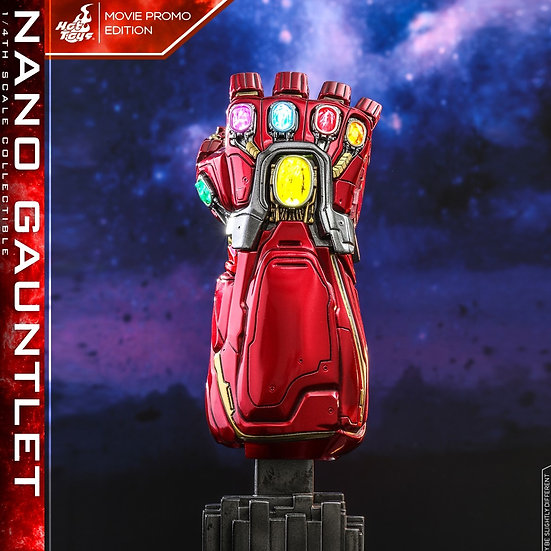 Hot Toys :  AVENGERS: ENDGAME NANO GAUNTLET (MOVIE PROMO EDITION)