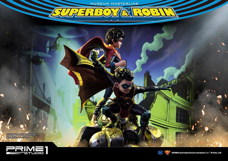 PRIME1STUDIO : Superboy & Robin