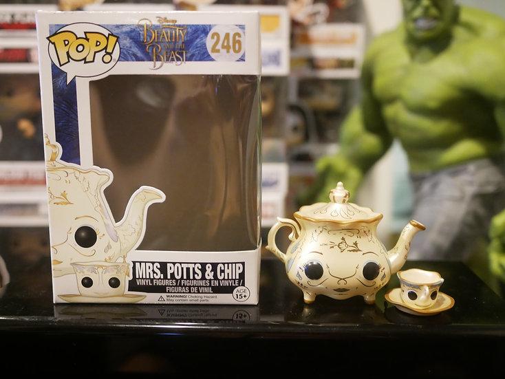 Funko Pop Disney :  Beauty and the Beast - Mrs. Potts & Chip
