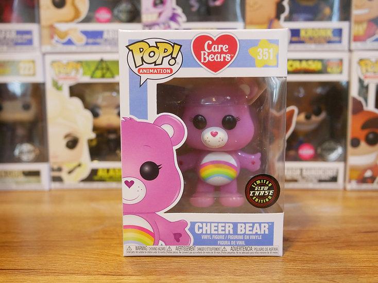 Funko POP Animation: Care Bears - Cheer Bear (Glow)(Chase)
