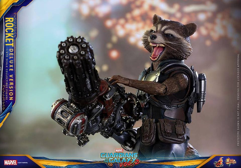Hot Toys : GUARDIANS OF THE GALAXY VOL. 2 ROCKET (DELUXE VERSION)