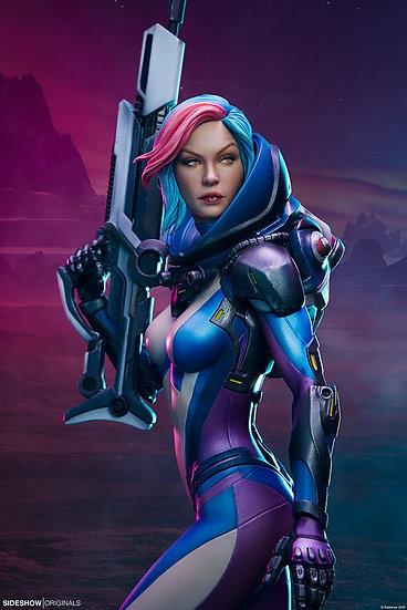 Sideshow : Bounty Hunter: Galactic Gun For Hire Statue