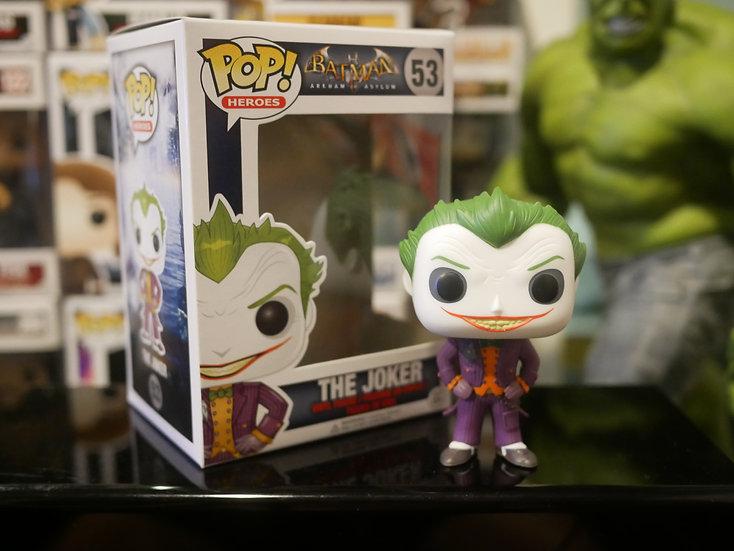 Funko Pop Heroes : Arkham Asylum - Joker
