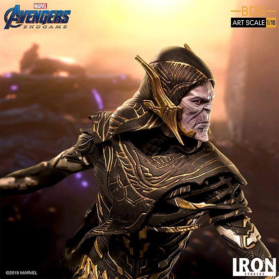 IRON STUDIOS 1/10 : Avengers: Endgame Corvus Glaive Black Orde Order De