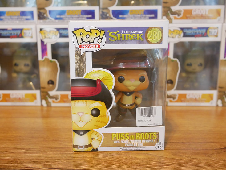 Funko Pop Movie:Shrek - Puss In Boots
