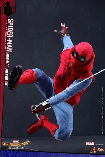 Hot Toys : SPIDER-MAN: HOMECOMING- SPIDER-MAN (HOMEMADE SUIT VERSION)