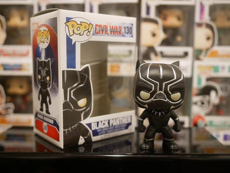 Funko Pop Marvel : Captain America 3 Civil War - Black Panther