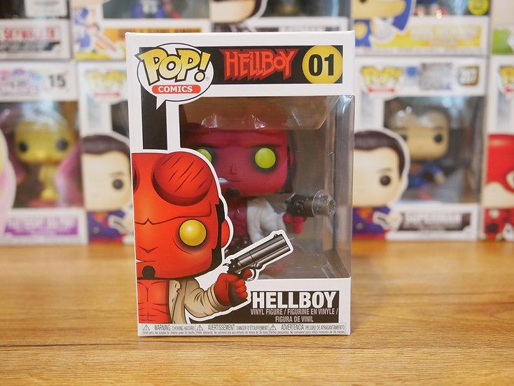 Funko POP Hellboy S1: Hellboy w/Jacket & No Horns