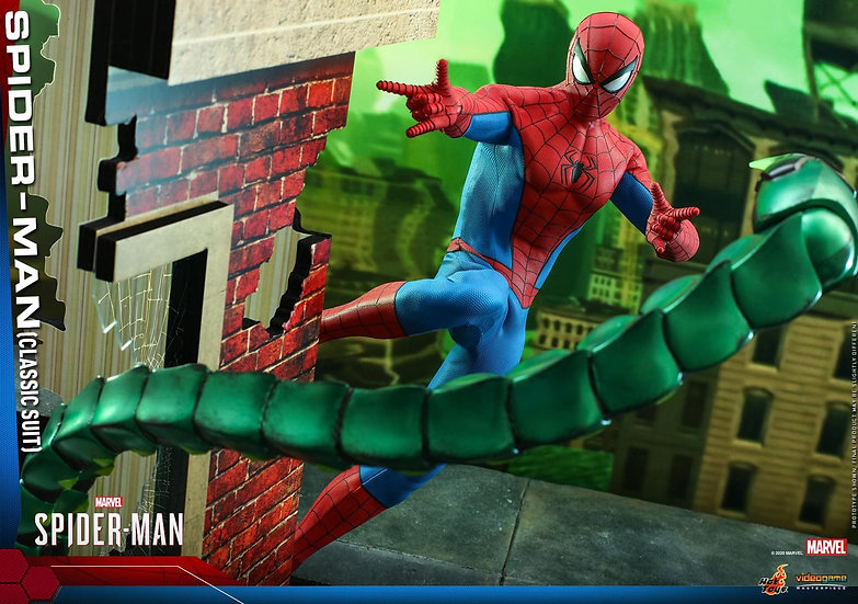 [LIMIT ORDER] HOT TOYS 1/6 : MARVEL'S SPIDER-MAN SPIDER-MAN (CLASSIC SUIT)