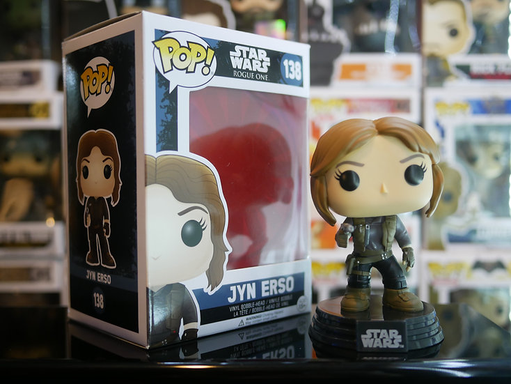 Funko Pop Star Wars : Rogue One - Jyn Erso