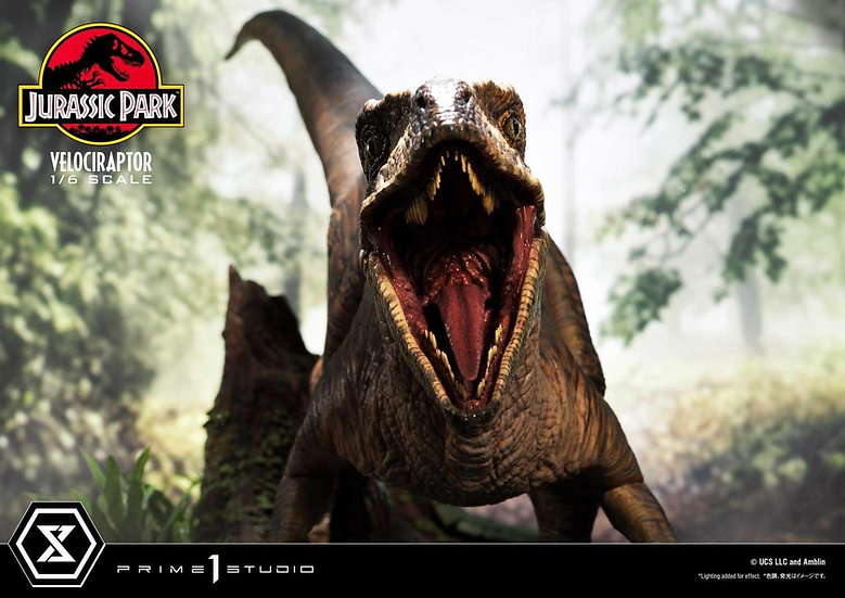 [16/10/21] Prime 1 Studio 1/6 : Velociraptor Attack