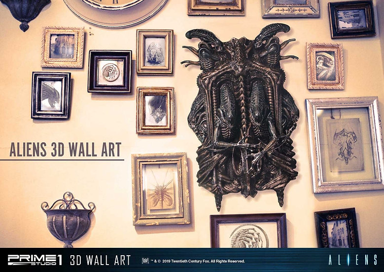 PRIME1STUDIO : Aliens 3D Wall Art