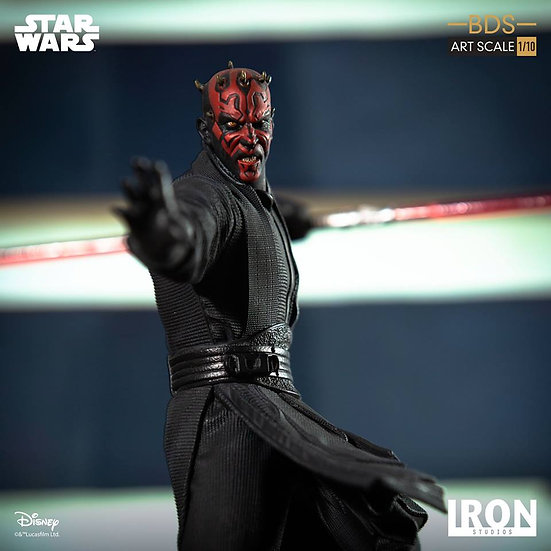 IRON STUDIOS 1/10 :  Star Wars : Darth Maul BDS