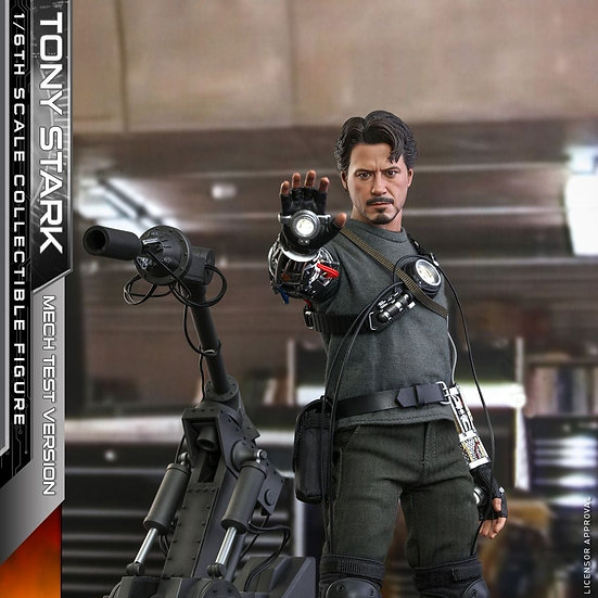 HOT TOYS 1/6 : TONY STARK (MECH TEST VERSION) (DELUXE VERSION