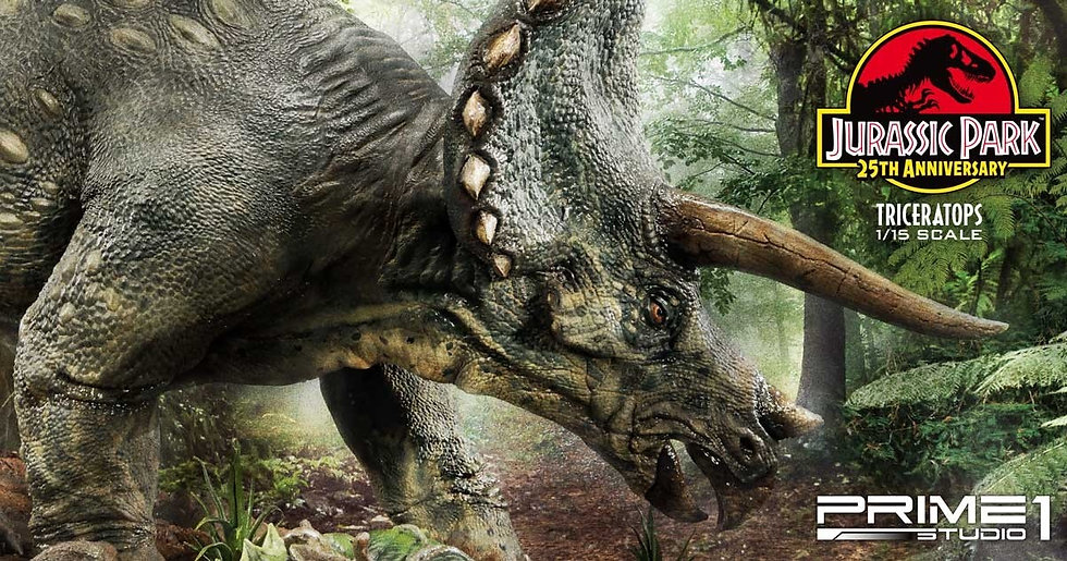 PRIME1STUDIO 1/15 : Jurassic Park Triceratops