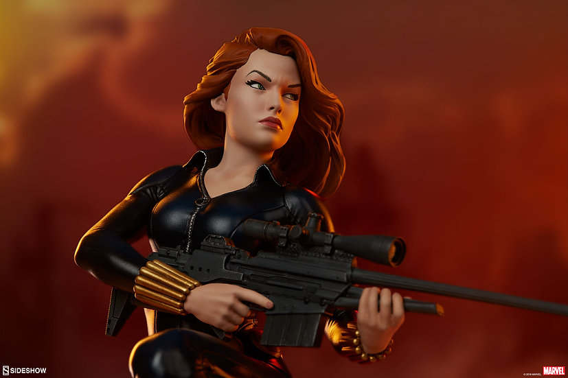 SIDESHOW 1/5 : Black Widow
