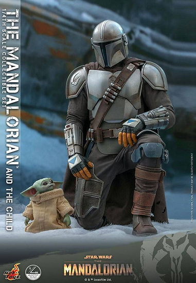 HOT TOYS 1/4 : THE MANDALORIAN & THE CHILD