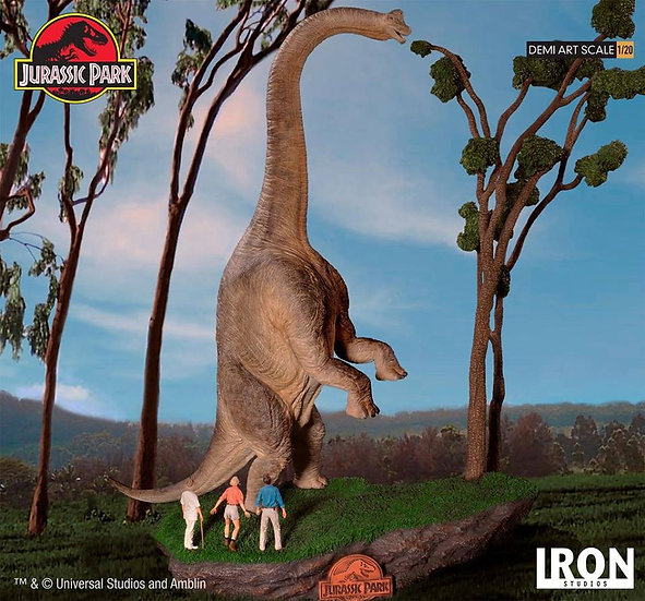 IRON STUDIOS 1/20 : WELCOME TO JURASSIC PARK