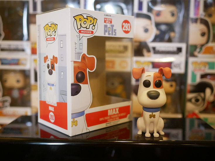 Funko Pop Movies : TheSecret Life of Pets - Max