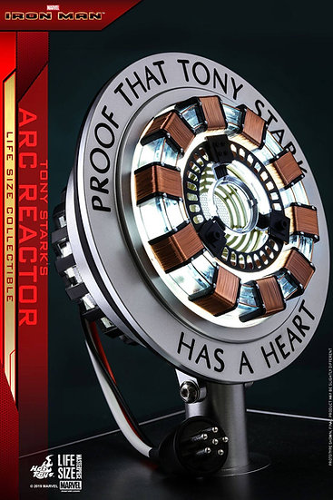 Hot Toys : IRON MAN  TONY STARK'S ARC REACTOR