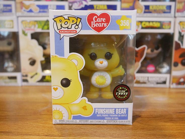 Funko POP Animation: Care Bears - Funshine Bear (Glow)(Chase)