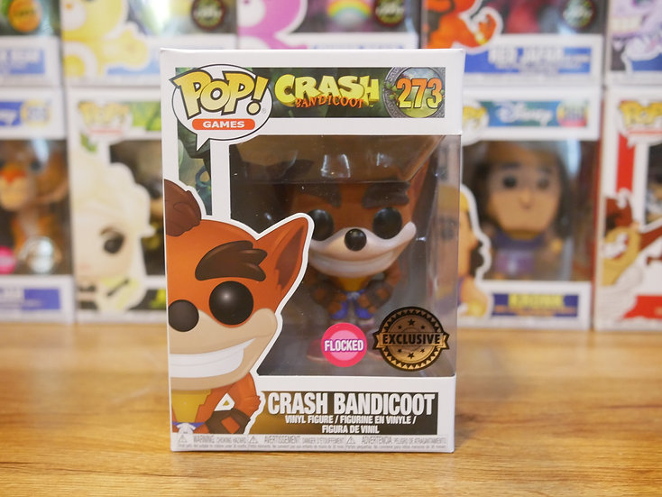 Funko Pop Games: Crash Bandicoot: Crash Bandicoot (FL)(EX)