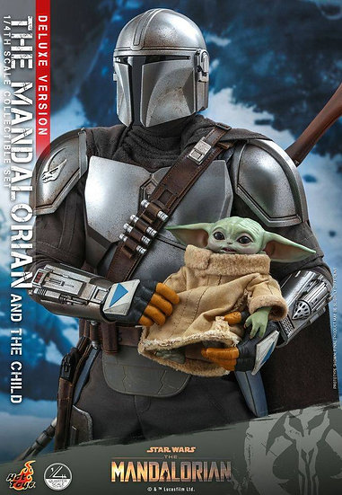 [LIMIT ORDER] HOT TOYS 1/4 : THE MANDALORIAN & THE CHILD [Deluxe]