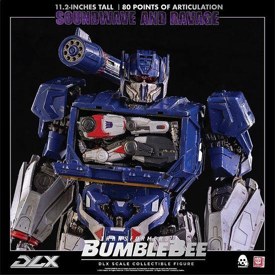 threeZero Transformers DLX Series: Soundwave and Ravage