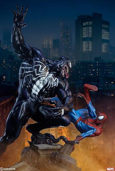 SIDESHOW Statue : Spider-Man vs Venom