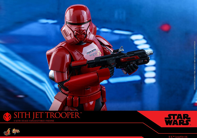 Hot Toys 1/6 : STAR WARS: THE RISE OF SKYWALKER SITH JET TROOPER