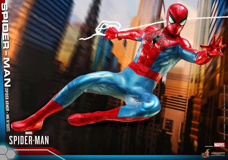 Hot Toys 1/6 :  SPIDER-MAN (SPIDER ARMOR - MK IV SUIT) MARVEL'S SPIDER