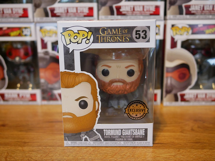 Funko POP TV: GOT S8 - Tormund (Snow Covered) IE