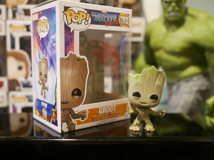 Funko Pop Movies : Guardians of the Galaxy 2 - Groot
