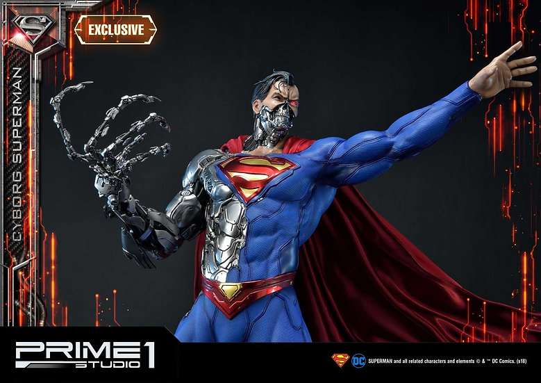 PRIME1STUDIO 1/3 : SUPERMAN CYBORGSUPERMAN [EXCLUSIVE]