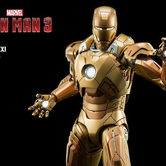 KING ARTS : IRONMAN MARK XXI 1/9 DIECAST