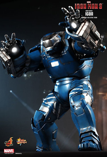Hot Toys : IGOR (MARK 38) IRON MAN 3
