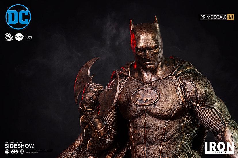 IRON STUDIOS 1/3 : BATMAN BRONZE EDITION